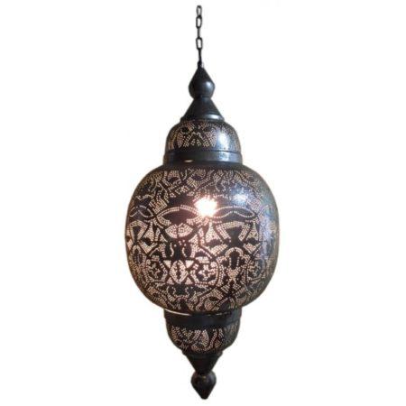 Arabische lamp | Filigrain | Metaal | Gaatjes patroon | Oosterse lampen | Amsterdam