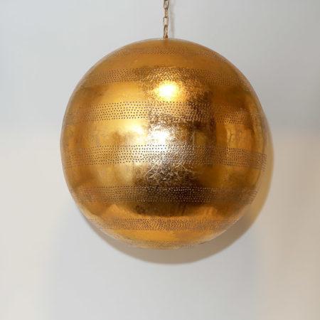Arabische hanglamp | Oosterse lamp | Filigrain | Metaal | Vintage goud | Amsterdam
