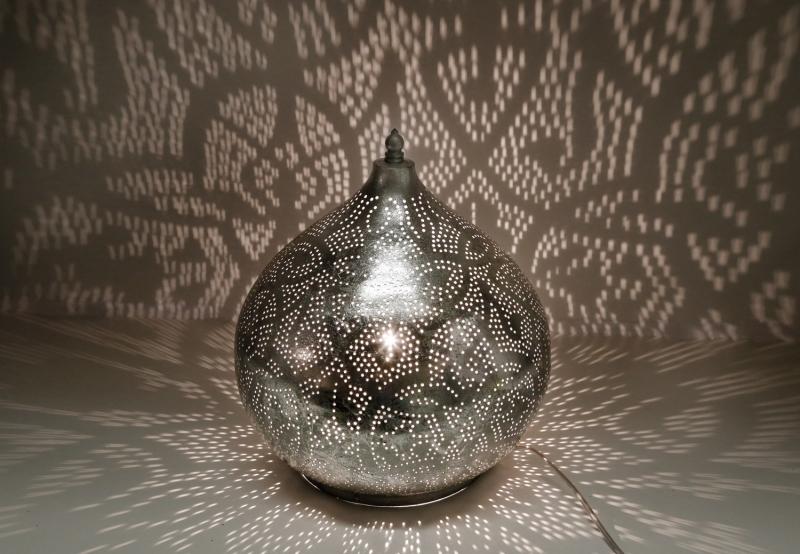 Oosterse|Tafellamp|Filigrain|Zilver|Oni