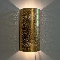 Egyptische|Filigrain|Wandlamp|Vintage|Goud