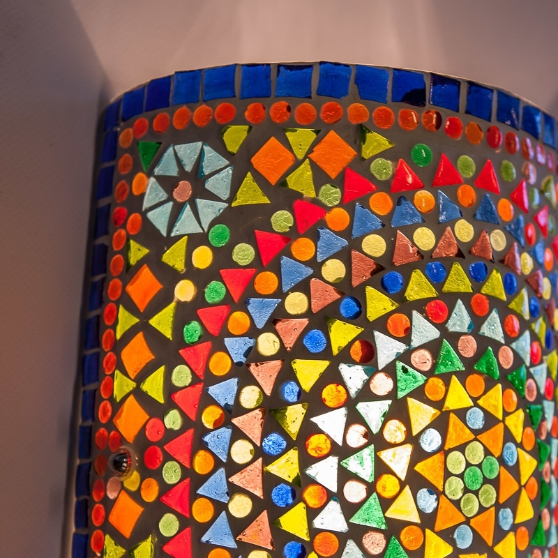 Wandlampen|Mozaïek|Multi-colour|Amstelveen|