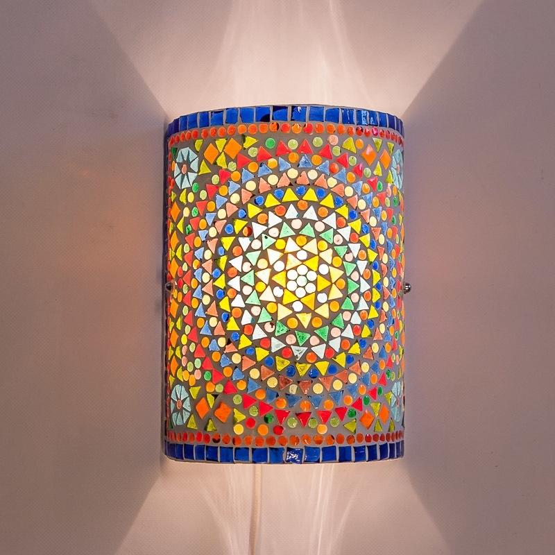 Wandlamp|Mozaïek|Oosterse|Lampen|