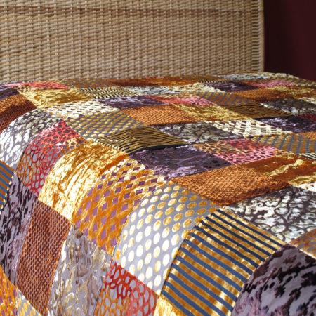 Oosterse bedsprei | Patchwork | Marokkaans kleed | Handgemaakt | Oosterse sprei
