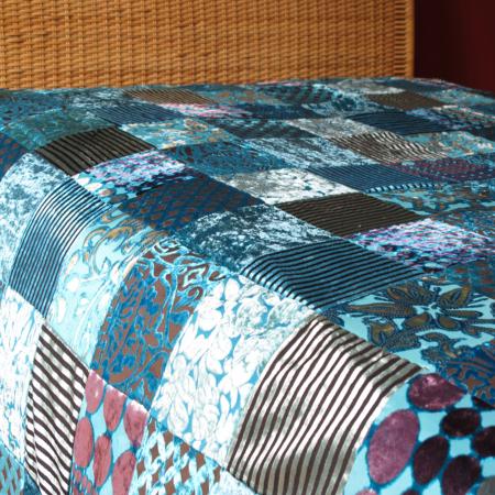 Oosterse bedsprei | Patchwork | Marokkaans kleed | Bed overtrek