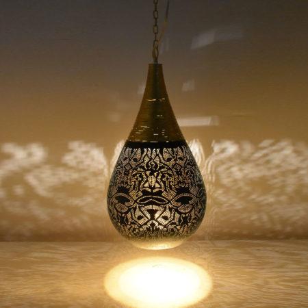 Oosterse hanglamp | Arabisch filigrain | Metaal | Eettaffel lamp | Oosterse verlichting | Luxe Oosterse lampen | Moderne Oosterse verlichting