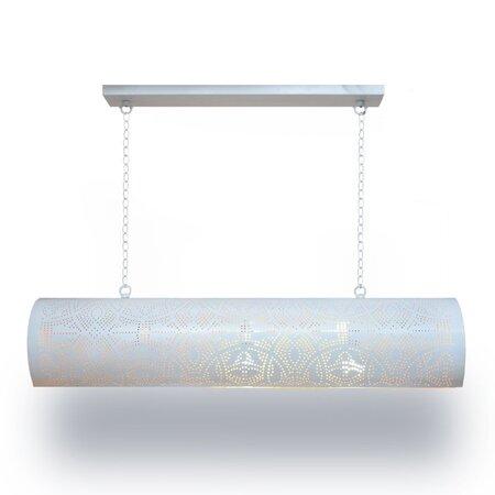 Oosterse hanglamp | oosterse lampen | Moderne Oosterse verlichting | Wit goud | Beste prijzen