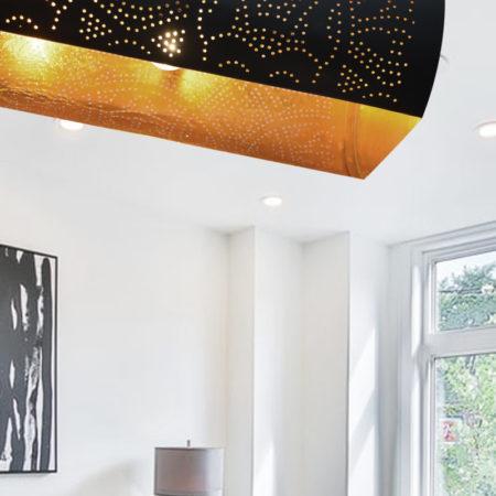 Oosterse hanglamp met open onderkant en filigrain design | Luxe Oosterse lampen met de beste prijzen | Gratis bezorging