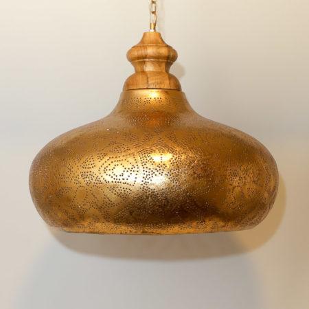 Oosterse hanglamp | Marokkaanse lampen | Filigrain | Metaal | Gaatjes patroon | Arabische verlichting | Amsterdam