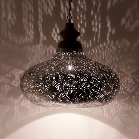 Oosterse hanglamp filigrain style | Arabische lampen | Metaal | Gaatjes patroon | Amsterdam