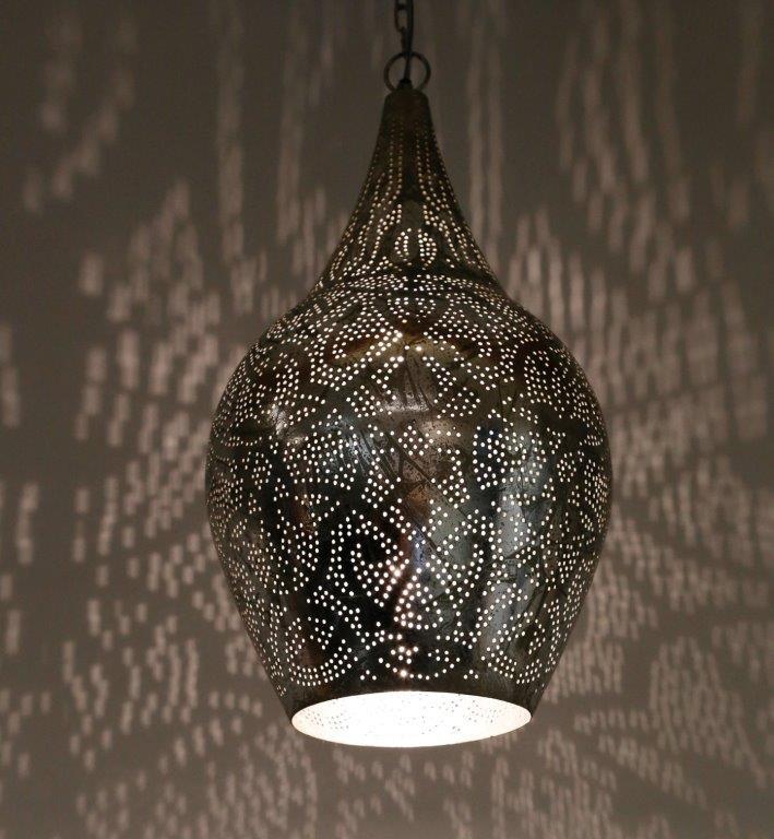 Beste Oosterse hanglamp online bij de specialist voor Oosterse lampen! RD-28