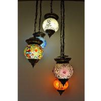 Oosterse hanglamp | Mozaiek | Marokkaanse lampen | Oosterse lamp | Glasmozaiek | Verlichting | Scherpe prijs | Gratis bezorgd