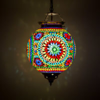 Oosterse hanglamp | Marokkaanse lampen | Oosterse lamp | Mozaïek | Oosters interieur