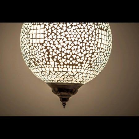 Mozaiek hanglamp traditioneel | Oosterse lamp | Marokkaanse lampen
