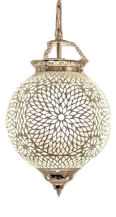Oosterse lamp mozaïek | Hanglamp | Marokkaanse lampen | Arabische sfeerverlichting