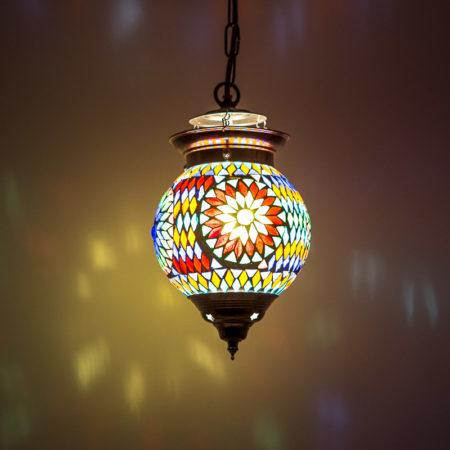 Oosterse hanglamp | Arabische lampen | Mozaïek | Oosterse lamp | Marokkaanse verlichting