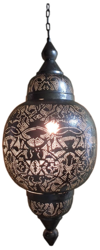 Oosterse lamp | Arabische hanglamp | Filigrain | Zilver | Oosterse lampen