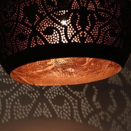 Oosterse lamp | Arabisch filigrain | Oosterse lampen | Marokkaanse hanglamp | Sfeerverlichting | gaatjes lamp | Hanglampen