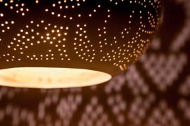Oosterse lamp | Arabische hanglamp | Marokkaanse lampen | Oosterse lampen | Metaal | Oosterse verlichting