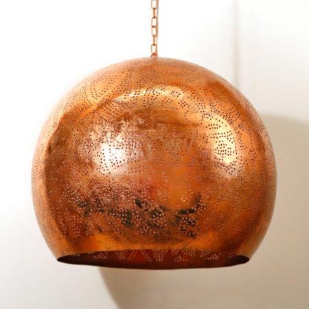 Oosterse lamp | Filigrain hanglamp | Marokkaanse lampen | Oosterse verlichting | Metaal | Gaatjes lamp | Sfeer verlichting | Oosters interieur