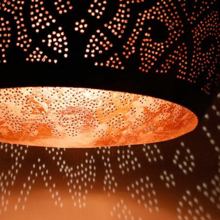 Oosterse lamp | Arabische hanglamp | Filigrain | Oosterse lampen | Vintage koper | Metaal