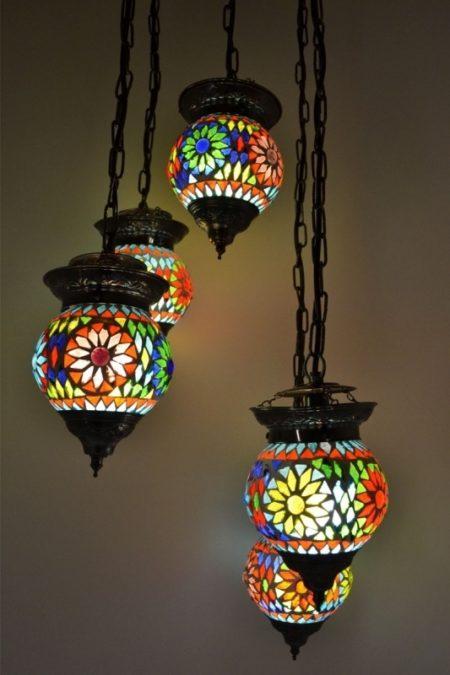 Oosterse lamp | Marokkaanse lampen | Mozaiek hanglamp | Arabische verlichting | Oosterse lampen