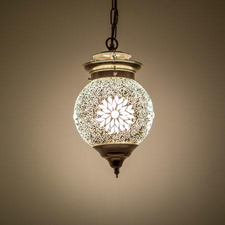 Oosterse lampen | Mozaïek | Hanglamp | Transparant | Amsterdam