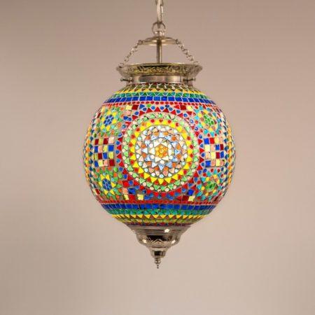 mozaiek hanglamp traditioneel | Oosterse lamp | Marokkaanse lampen | Oosters interieur