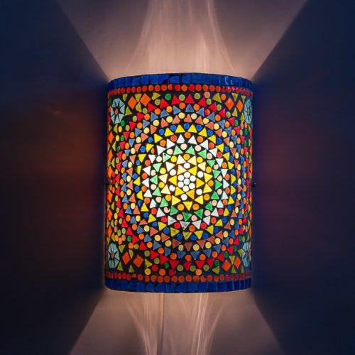 Oosterse wandlamp | Mozaïek | filigrain | Marokkaanse lamp | Amsterdam
