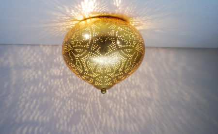 Oosterse plafonnière | Arabisch Filigrain | Marokkaanse lamp | Oosterse lampen | Amsterdam