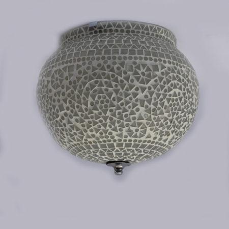 Oosterse plafondlamp | Mozaïek lampen | Transparant | Oosterse lampen | Marokkaanse lamp | Geschikt voor vochtige ruimte | Oosterse sfeerverlichting