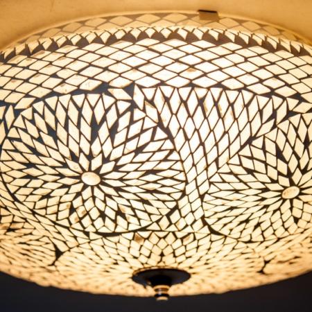 Oosterse plafondlamp | Mozaïek plafonnière | Marokkaanse lampen | Gratis verzenden!