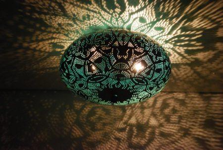 Oosterse plafonnière   Marokkaanse plafondlamp   Arabische lampen   Oosters