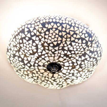 Oosterse lamp | Marokkaanse plafonnière | Mozaïek lampen | Oosterse verlichting | Arabische sfeerverlichting