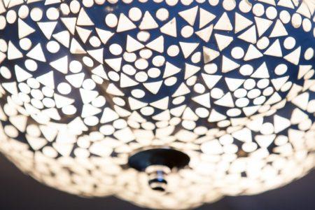 Oosterse plafondlamp | Marokkaanse lamp | Arabische verlichting | Oosterse mozaïek lamp
