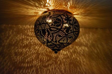 Oosterse plafonnière filigrain | Arabische plafondlampen | Oosters interieur | Marokkaanse lamp