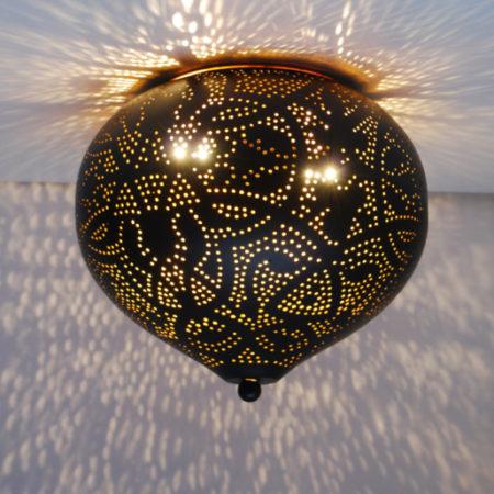 Oosterse plafonnière filigrain | Arabische lampen | Oosters interieur | Gratis verzenden NL & België