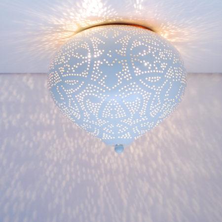Oosterse plafonnière | Arabisch filigrain | Marokkaanse lampen | Oosters interieur