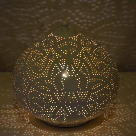 Oosterse tafellamp | Vintage wit | Goud | Sfeervolle Oosterse lampen | Beste prijzen | Gratis verzenden