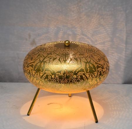 Oosterse tafellamp | Vintage goud | Mooie Oosterse tafellampen nu verkrijgbaar bij Oosterselampen.nl | Beste prijzen gratis verzenden