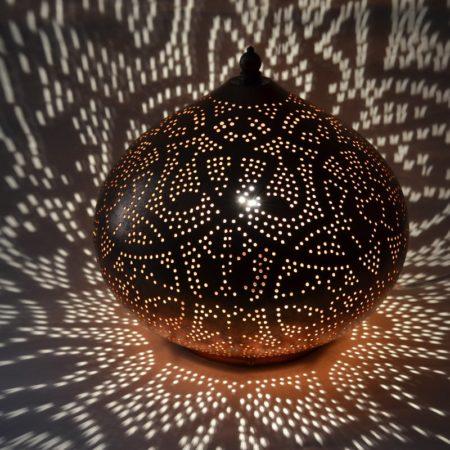 Oosterse tafellamp | Vintage koper | Filigrain | Arabische lampen | Oosterse lampen