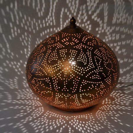 Oosterse tafellamp filigrain | Arabische lampen | Oosterse sfeerverlichting | Marokkaanse lamp