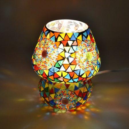 Oosterse tafellamp mozaiek | Paddenstoel | Arabische lampen | Marokkaanse lamp | Verlichting