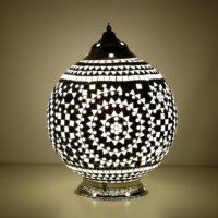 Oosterse tafellamp | Mozaïek lamp | Oosterse lampen | Arabische verlichting