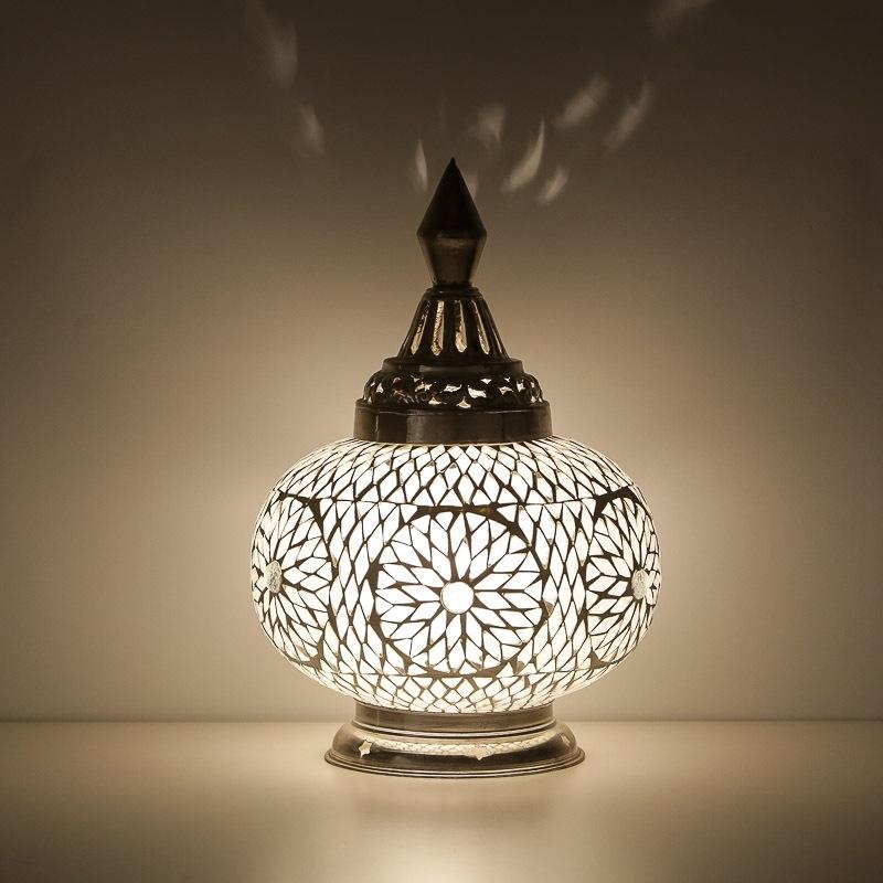 Oosterse tafellamp   mozaiek   Oosterse lampen   Turkish design   Tafellampen   Scherpe prijs gratis bezorgd