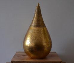 Oosterse hanglamp | Vintage goud | Arabische lampen | Oosterse lampen | Marokkaanse inrichting