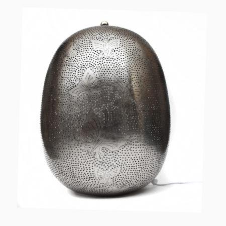 Oosterse tafellamp | Zilver | Arabische gaatjes lamp | Butterfly | Oosterse lamp | Snelle levertijd gratis verzonden