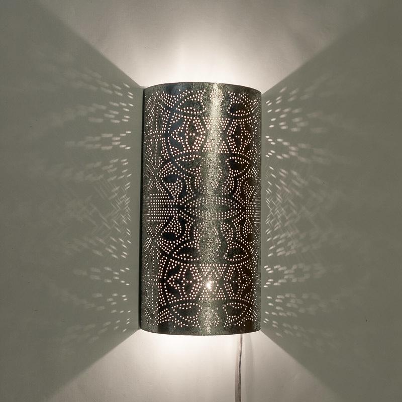 Zilveren|Filigrain|Lamp|Egyptische|Wandlamp