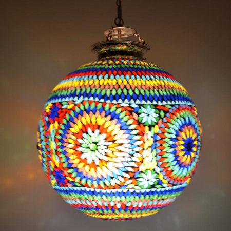 Oosterse|Lamp|Mozaïek|Hanglampen