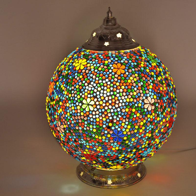Mozaiek|Tafellamp|Flower|Oosters|Interieur|Amstelveen