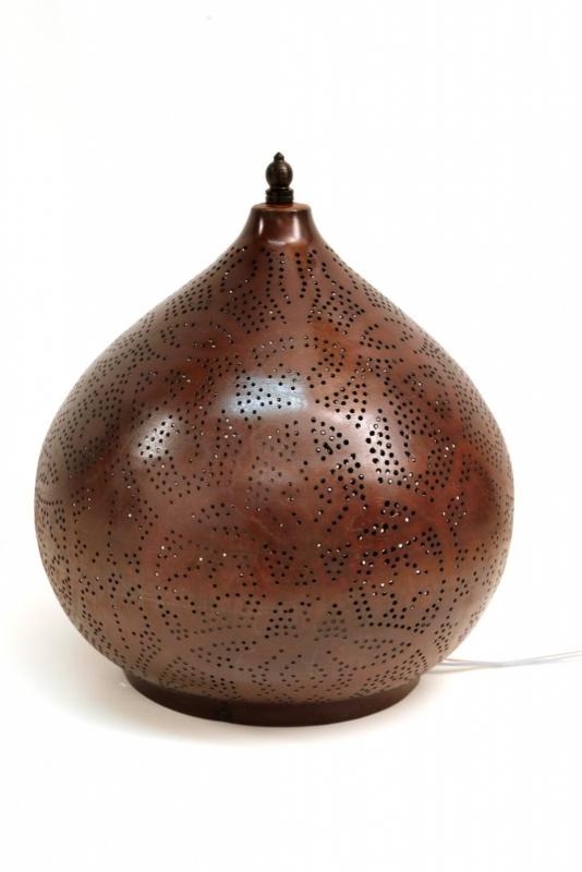 Tafellamp|Oni|Vintage|Roest|Filigrain